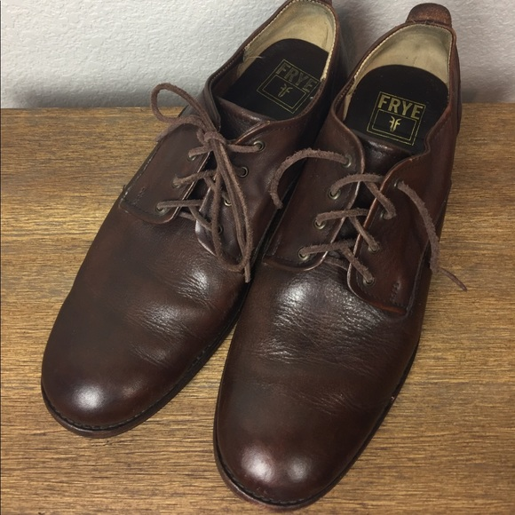Frye Other - Frye Brown Leather Oxfords Buyer Note 11